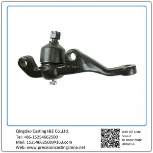 Customized Mild Steel Ball Joints Precoated Sand Casting General Mechanical Parts