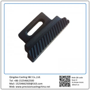 Customized Mild Steel Blackened Machined Investment Casting Vehicle Parts