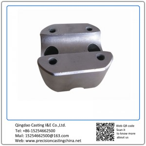Customized Mild Steel Construction Spare Parts Shell Mould Casting