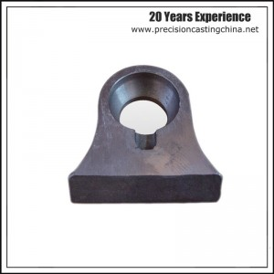 Construction Machine Parts Cast Nodular Iron Precision Casting