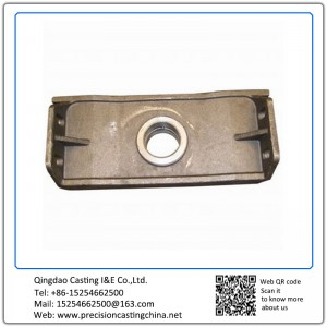 Customized Mounting Block Precoated Sand Casting Spherical Cast Iron Vehicle Parts