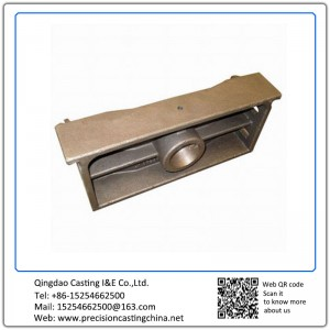 Customized Mounting Block Silica Sol Lost Wax Investment Casting Cast Nodular Iron