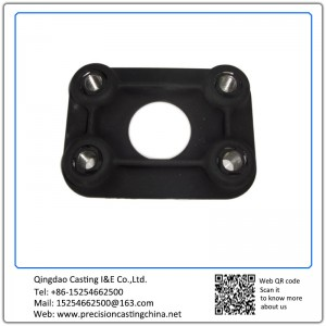 Customized Mounting Plate Ductile Iron Air Compressor Cylinder Parts Investment Casting