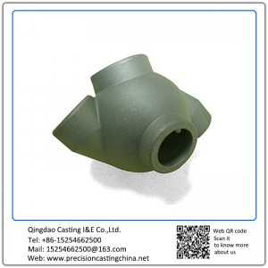 Customized Multi Joint Mild Steel Soluble Glass Casting Automotive Connectors