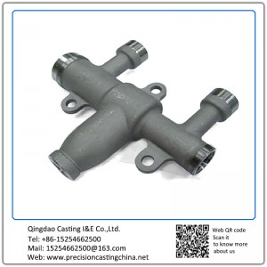 Customized Multifold Valve of CNC Turned Parts Ductile Iron Resin-bonded Sand Casting