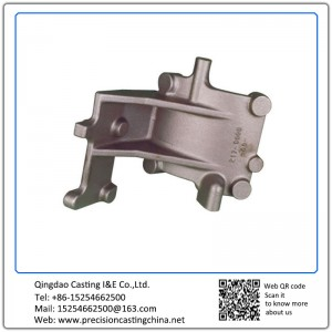 Customized Nodular Iron Industrial Parts Silica Sol Lost Wax Investment Casting