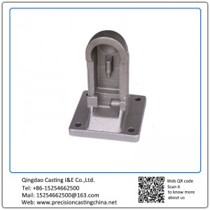 Customized Nodular Iron Shell Mould Casting Machine Bases