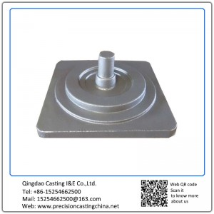 Customized Nodular Iron Solid Investment Casting Machine Parts Engine Components