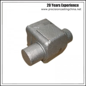 Construction Machine Parts Malleable Iron Waterglass Casting