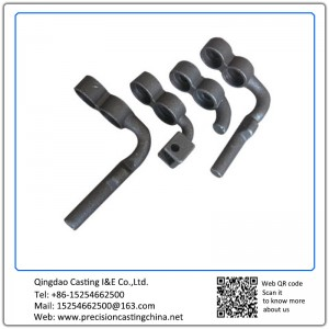 Customized OEM Auto Suspension Spare Parts High Strength Low Alloy Steel Investment Casting
