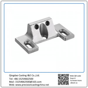 Customized OEM Concrete Pump Spare Parts Precoated Sand Casting Carbon Steel