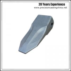 Constrution Machine High Mangaenese Steel  Excavator Bucket Teeth Precision Casting