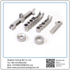 Customized OEM High Strength Low Alloy Steel High Manganese Steel Waterglass Casting Crane Spare Parts
