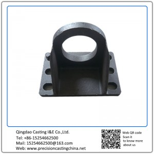 Customized OEM Machine Basement Hooks Malleable Iron Solid Investment Casting