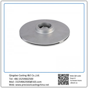 Customized OEM Pump Impeller Shell Mould Casting Mild Steel