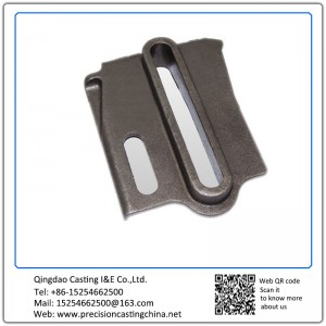 Customized OEM Railway Casting Parts Lost Foam Casting Process Mild Steel