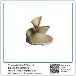 Customized OEM Spiral Spare Parts Alloy Steel Lost Foam Casting Process