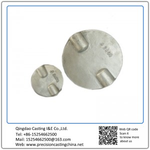 Customized OEM Valve Disc Nodular Iron Investment Casting