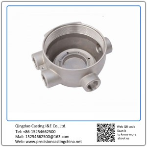 Customized OEM Watermeter Alloy Steel Investment Casting