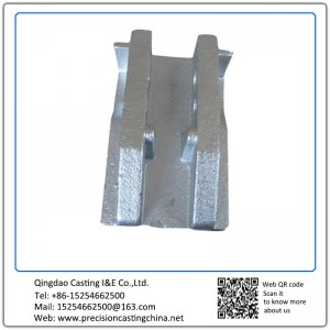 Customized OEM Zinc Plating Support Frame High Strength Low Alloy Steel Shell Mould Casting