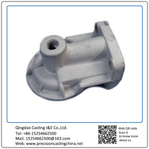 Customized Oil Filter Seating Malleable Iron Waterglass Casting Cylinder Head