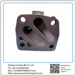 Customized Oil Filter Seating Nodular Iron Soluble Glass Casting