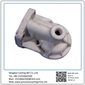 Customized Oil Filter Seating Spherical Graphite Cast Iron Clay Sand Casting
