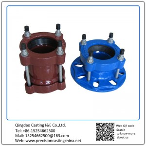 Customized Painted Pipe Fittings Assembled Solid Investment Casting Mild Steel