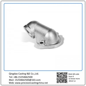Customized Pipe Fittings Parts Precoated Sand Casting Alloy Steel Components