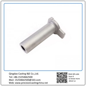 Customized Pipe Fittings Parts Precoated Sand Casting Stainless Steel Components