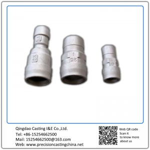 Customized Pipe fittings tube fittings Precision Casting Cast Nodular Iron