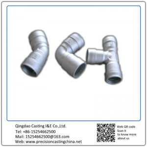 Customized Pipe fittings tube fittings precision casting process Malleable Iron