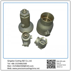 Customized Pipe Fittings Valve Connectors Precision Casting Ductile Iron