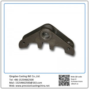 Customized Pivot Arm Spherical Cast Iron Investment Casting Automotive Support Bracket