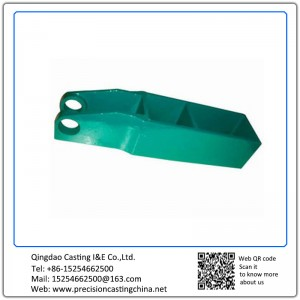 Customized Pivot Bracket Solid Investment Casting Malleable Iron