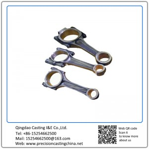 Customized Precision Casting Con Rod Carbon Steel