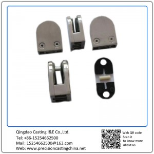 Customized Precision Casting Glass Clamps Stainless Steel