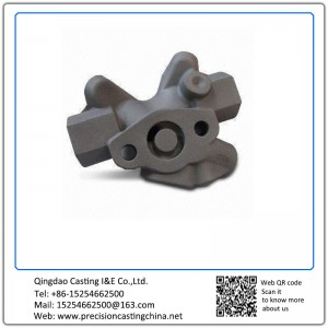 Customized Precision Casting Motor Vehicle Part Made of Stainless Steel with Silica Sol Process