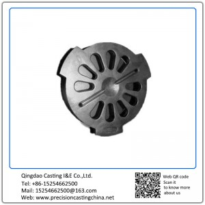 Customized Precision Casting Steel Parts Engine Cover