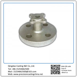 Customized Precision castings Stainless steel Valve with flange