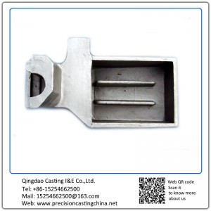 Customized Precision Investment Casting Alloy Steel Zinc Plated Machinery Parts