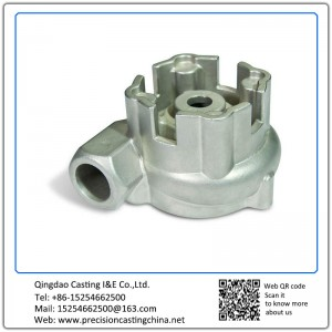 Customized Pressure Vessel Valve Cast Nodular Iron Lost Foam Casting Process