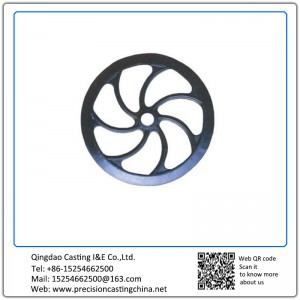 Customized Pulley Precision Casting Mild Steel Components