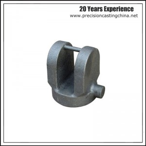 Forklift Fitting Resin Coated Sand Casting Malleable Iron