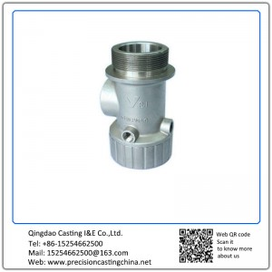 Customized Pump Housing Precision Lost Wax Casting Parts Silica Sol Green Wax Process ISO 9001 2008
