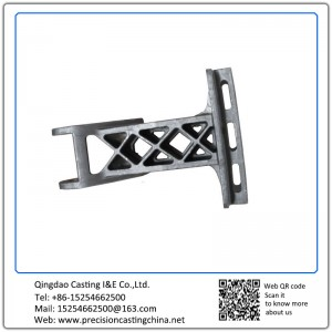 Customized Roller Bracket Precision Casting Mild Steel