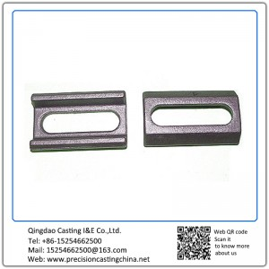 Customized Sand Clamp Malleable Iron Solid Investment Casting
