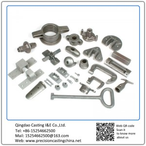 Customized Scaffolding Casting Spare Parts Investment Casting Engineering Machinery Parts