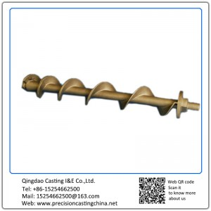 Customized Screw Rod for Agricultural Machinery Precoated Sand Casting Carbon Steel