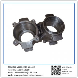 Customized Shell Mould Casting Train Axle Body Mild Steel